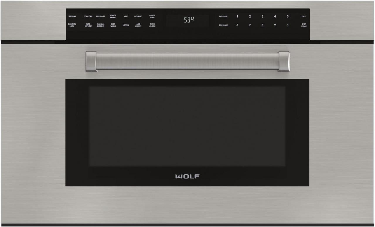 Wolf M Series 30 Professional Built In Microwave Oven Stainless Steel Mdd30pm