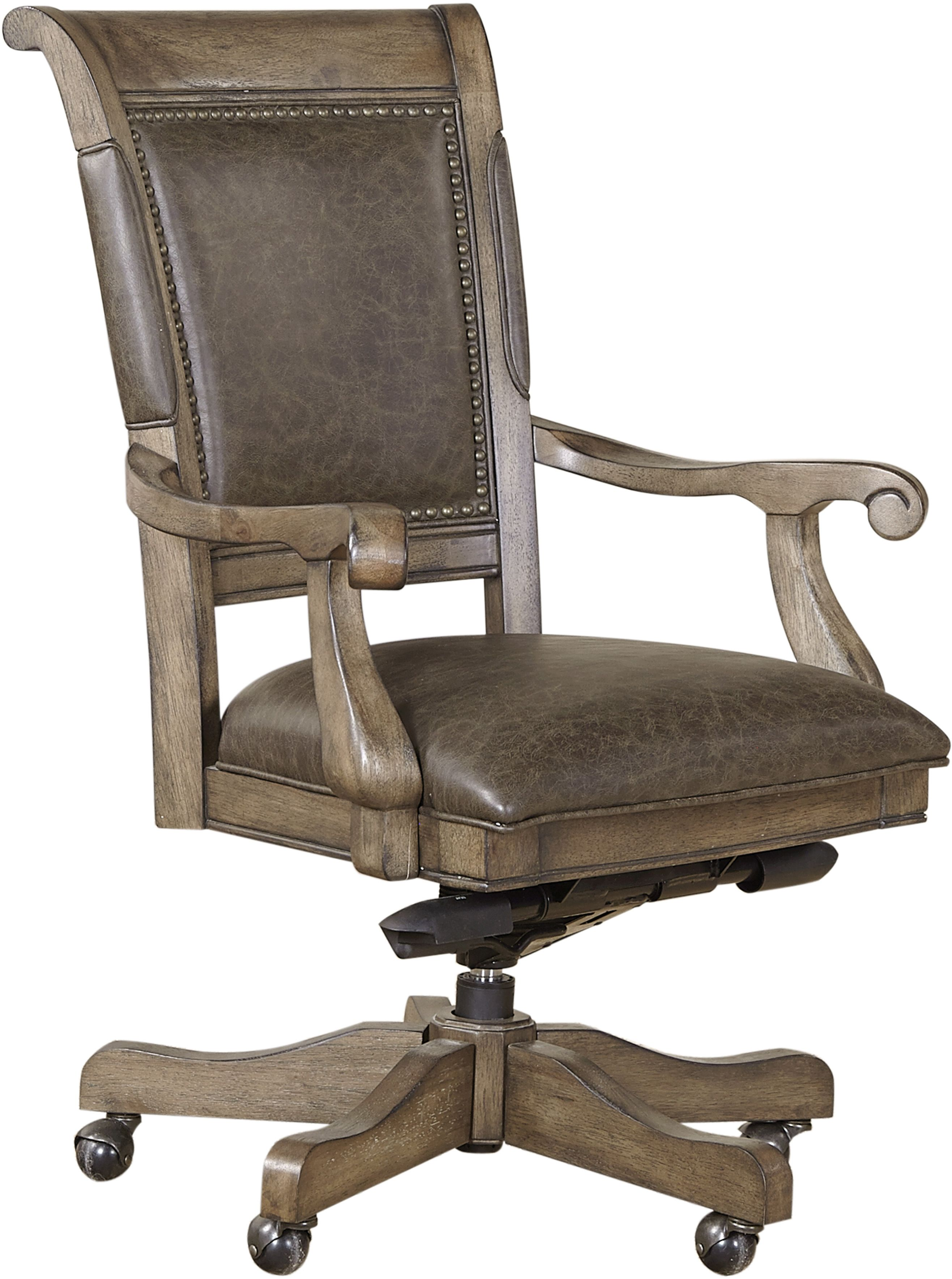 Aspenhome Arcadia Office Arm Chair I92 366a