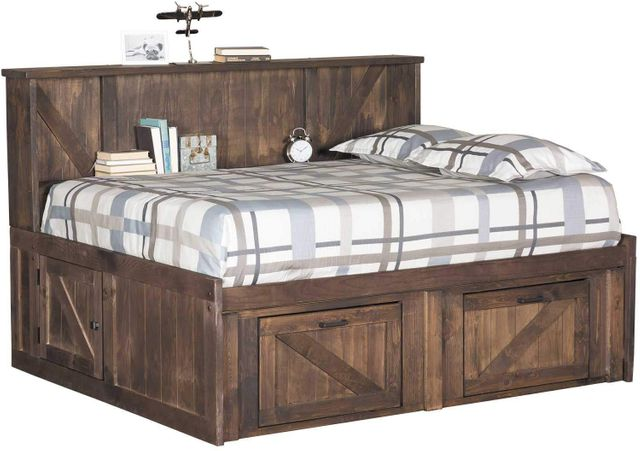 Trendwood Inc Urban Ranch Brown Roomsaver Full Bed With