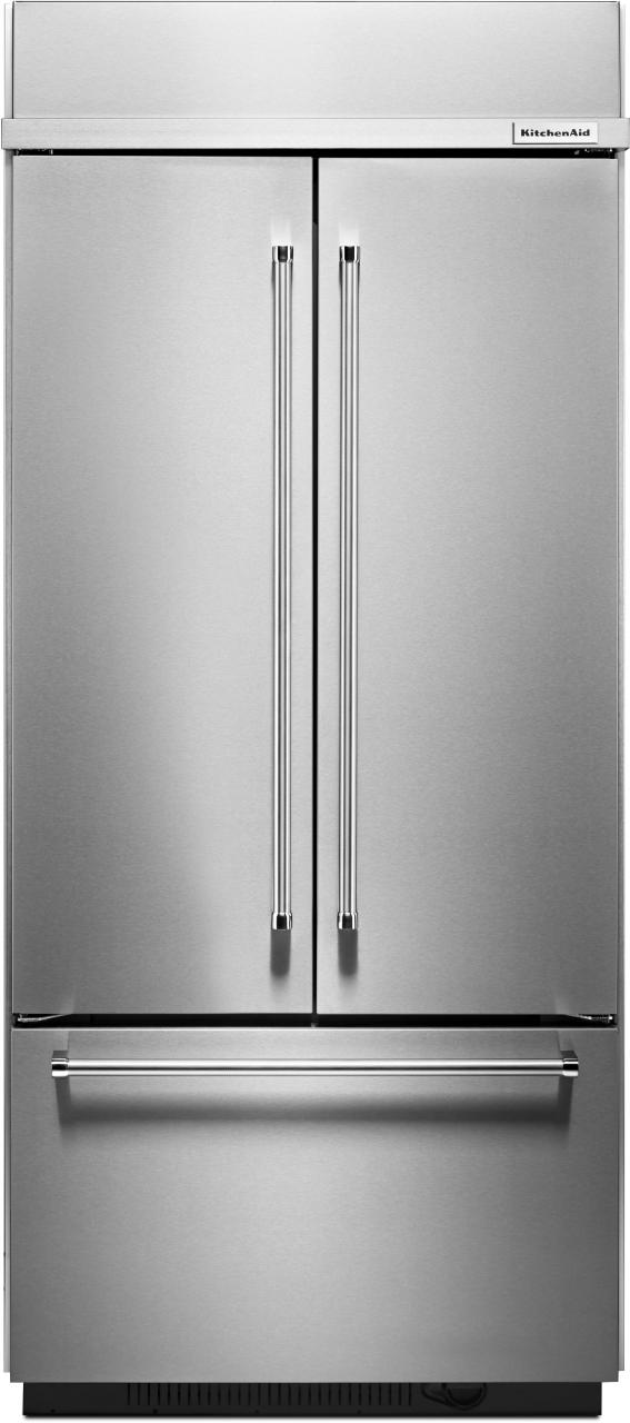 KitchenAid® 20.8 Cu. Ft. Built In French Door Refrigerator ...