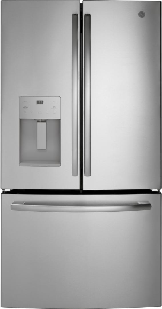 Ge 174 25 6 Cu Ft French Door Refrigerator Stainless Steel