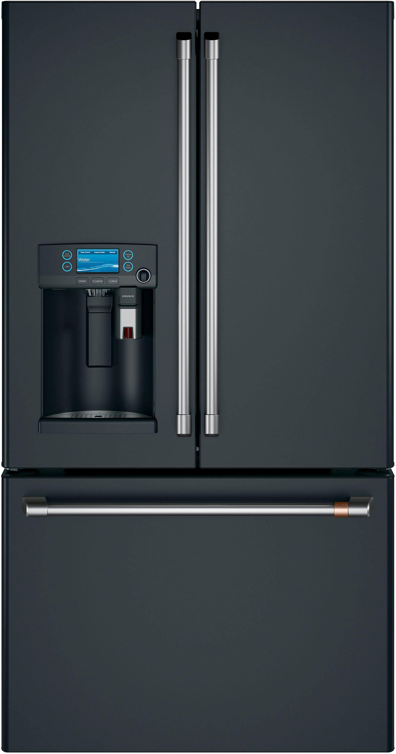 Caf 222 Cu Ft Counter Depth French Door Refrigerator Matte