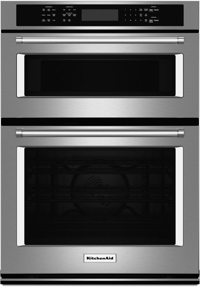 Kitchenaid 174 27 Quot Stainless Steel Electric Oven Microwave