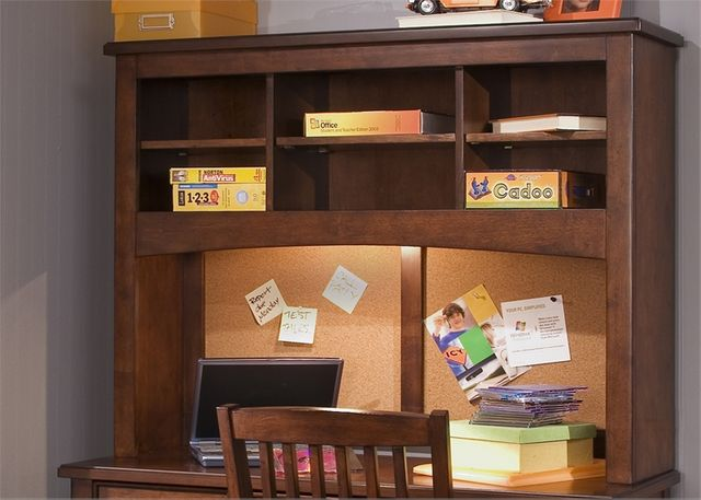 Liberty Chelsea Square Youth Bedroom Student Desk Hutch-628 ...