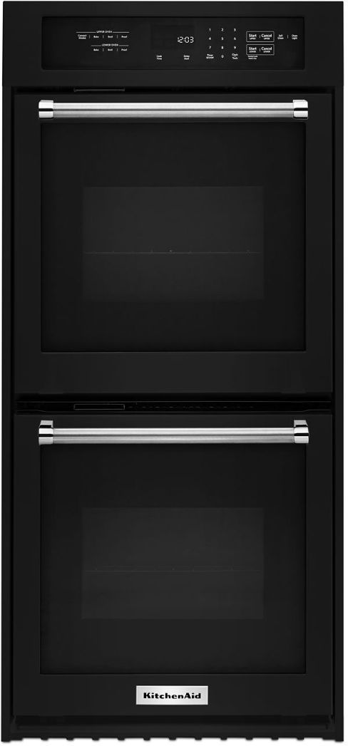 Kitchenaid 174 23 75 Quot Black Electronic Built In Oven