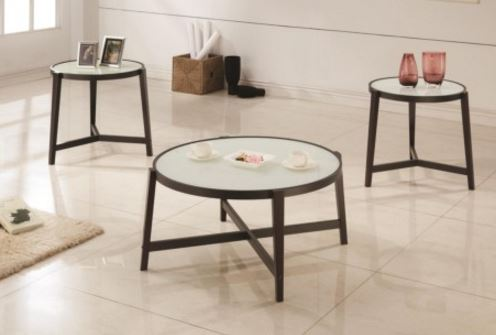 Coaster 3 Piece Occasional Table Set 700180