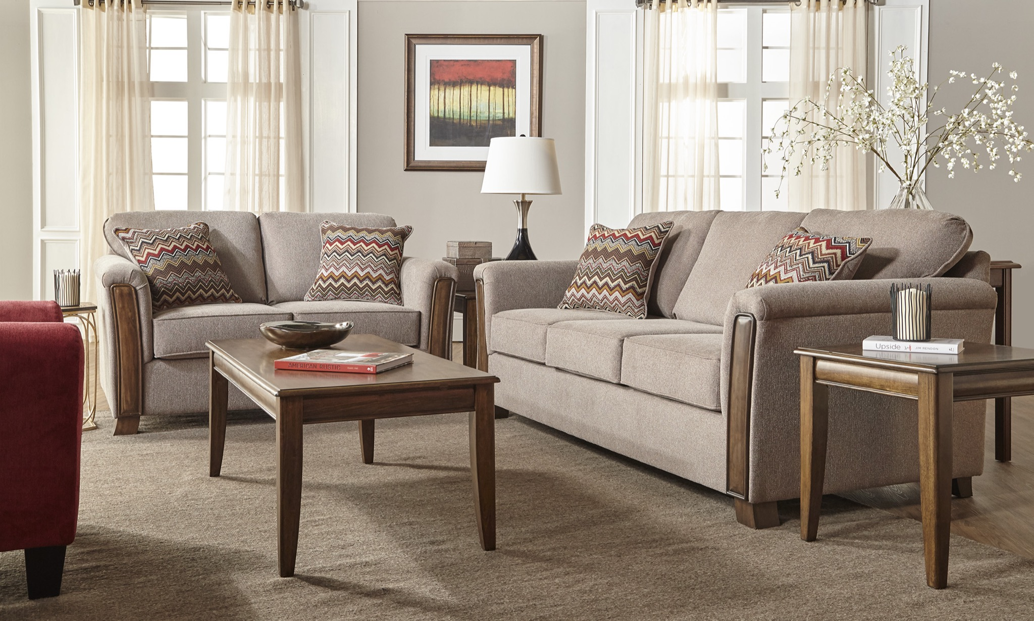 Reviews For Serta Upholstery By Hughes Furniture Living Room