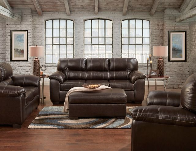 Affordable Furniture Austin Chocolate Living Room Set-5603-5602-2450 Austin  Chocolate