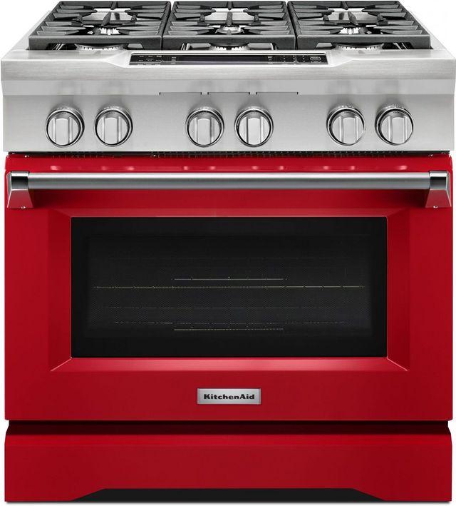 Kitchenaid 36 Signature Red