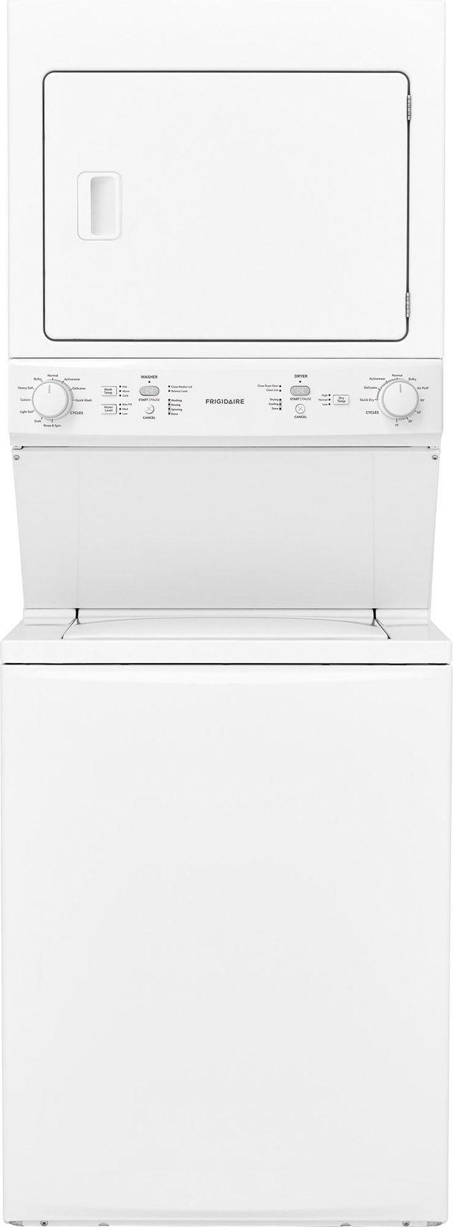 Frigidaire 174 3 9 Cu Ft Washer 5 5 Cu Ft Dryer White