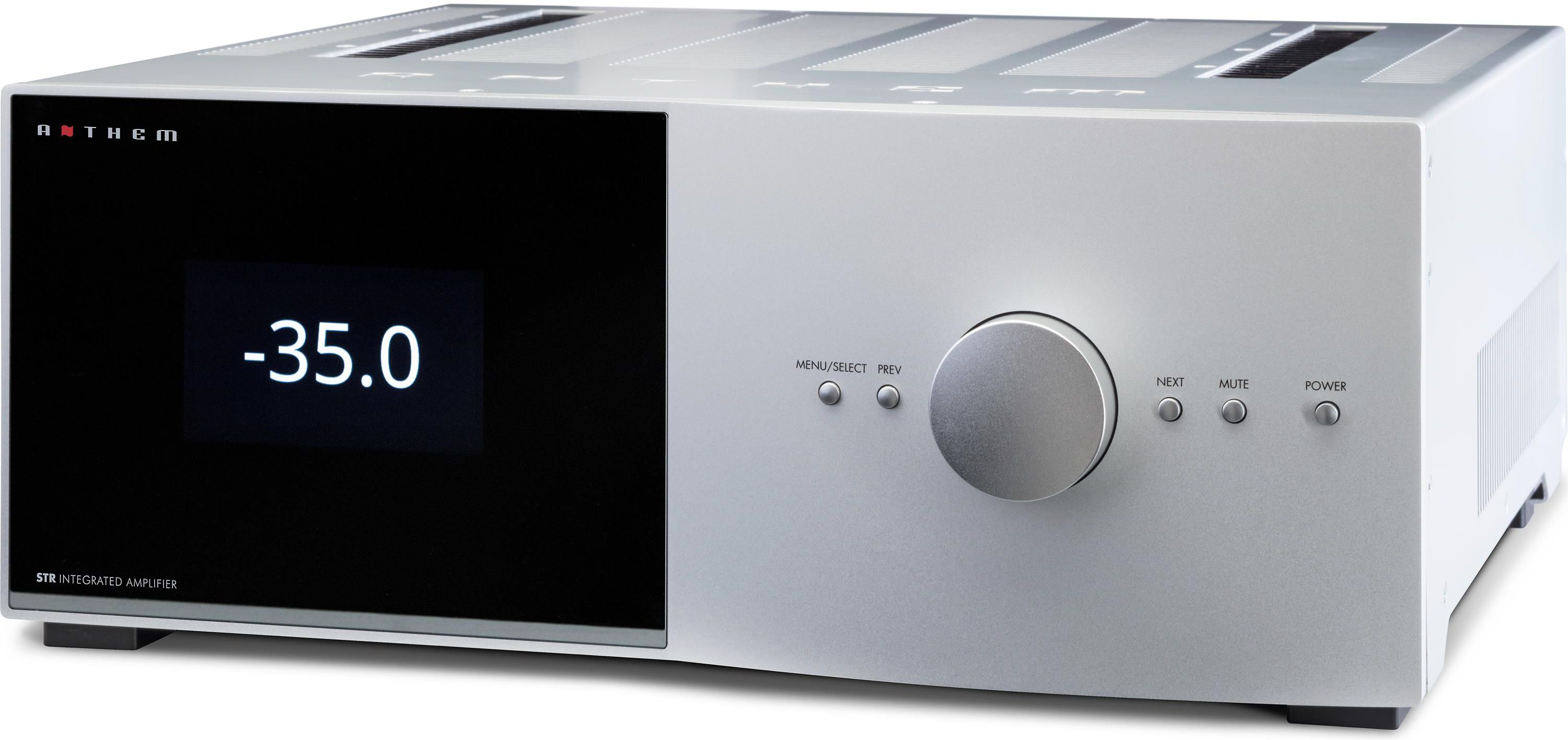 Anthem 2 Channel Str Integrated Amplifier Silver 1412000013 Power Compatible With Tv Audio