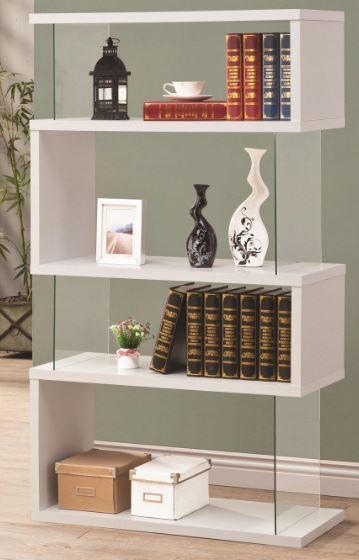 CoasterR Asymmetrical Bookshelf 800300