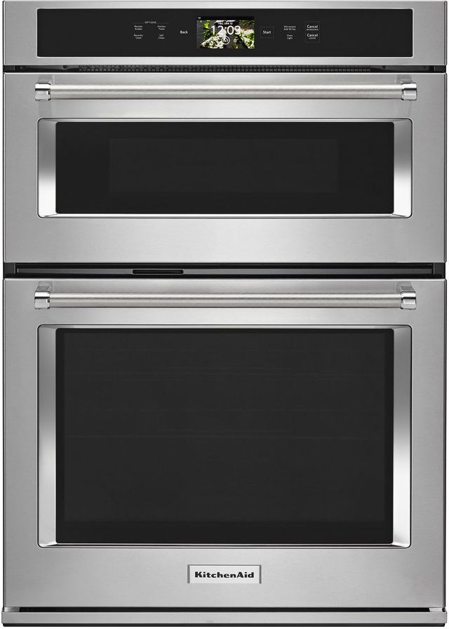 Kitchenaid 174 30 Quot Stainless Steel Smart Electric Oven Micro