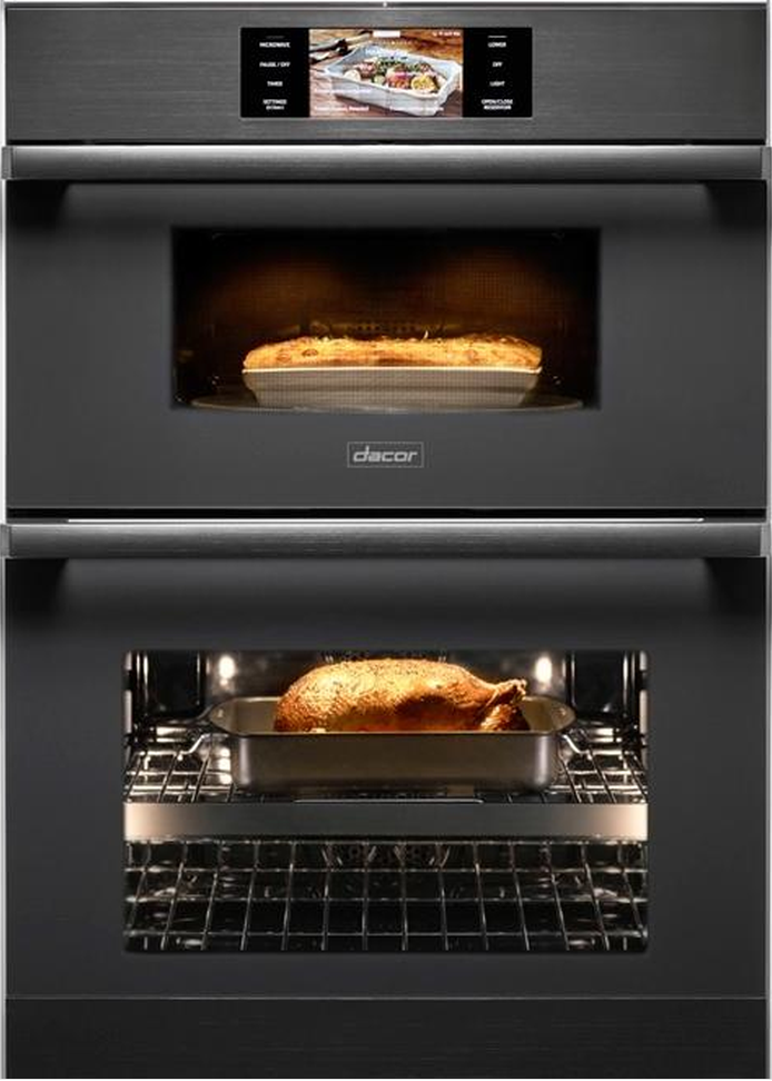 Dacor Modernist 30 Electric Micro Combination Oven Graphite Stainless Steel Doc30m977dm