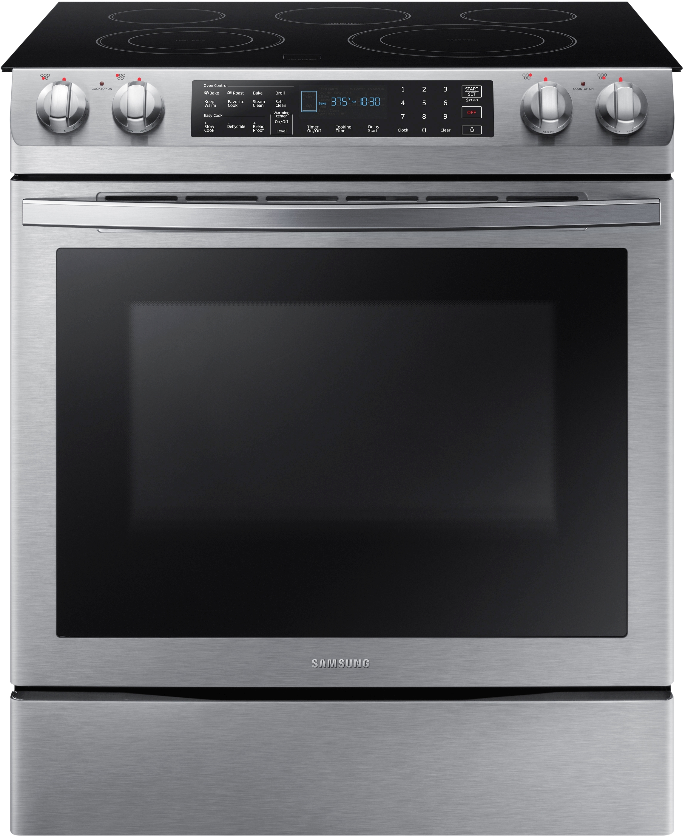 Samsung 29 94 Quot Stainless Steel Slide In Electric Range