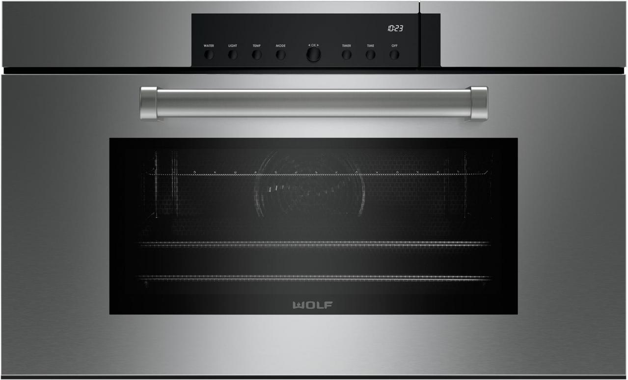Wolf M Series 30 Professional Convection Electric Built In Single Steam Oven Stainless