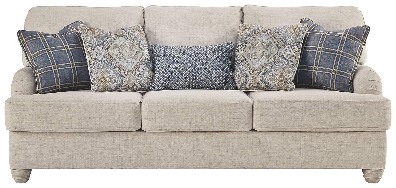 Superb Benchcraft By Ashley Traemore Linen Queen Sofa Sleeper Interior Design Ideas Truasarkarijobsexamcom