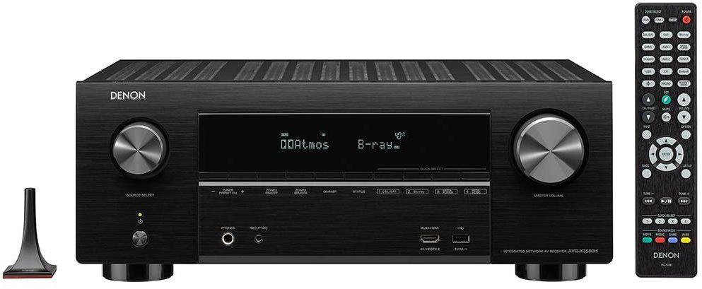 Denon® 7 2 Channel 4K Home Theater Receiver-AVR-X3500H