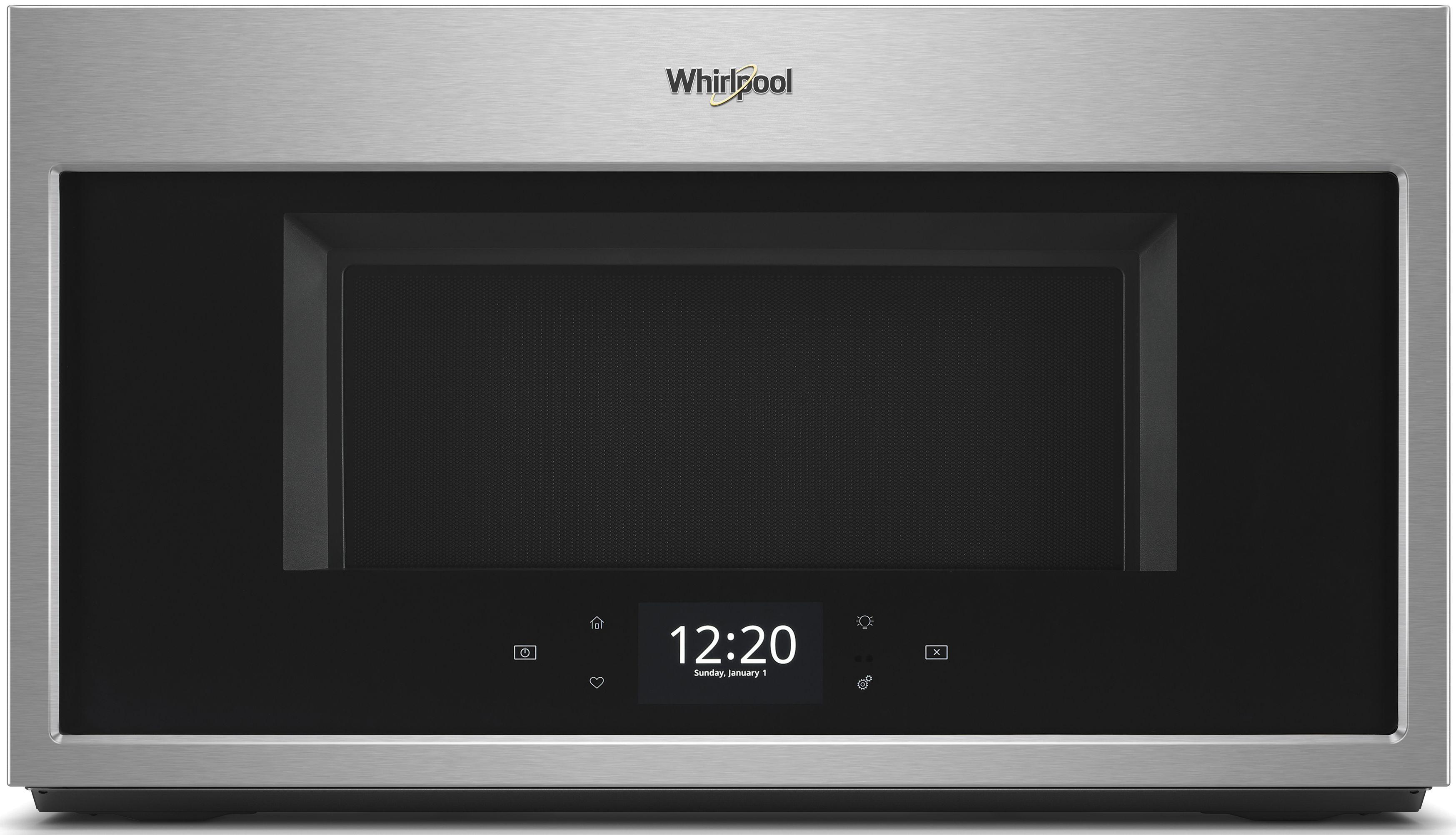 Whirlpool Over The Range Microwave Fingerprint Resistant Stainless Steel Wmha9019hz