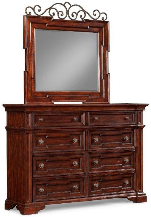 Klaussner San Marcos Dresser 872 650 Moderno Appliance Furniture - Marcos-para-fotos-modernos