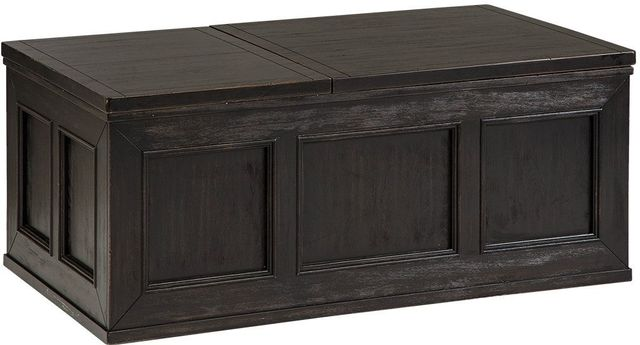Signature Design By Ashley 174 Gavelston Rubbed Black Lift