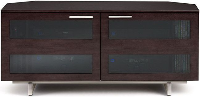 Beau BDI Avion® Corner Media Cabinet Espresso Stained Oak 8925 OAK