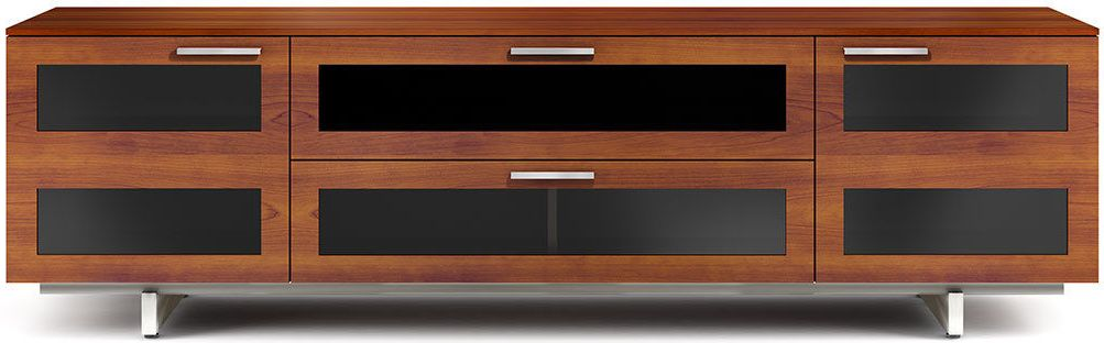 Charmant BDI Avion® Media Cabinet Natural Stained Cherry 8929 CHERRY
