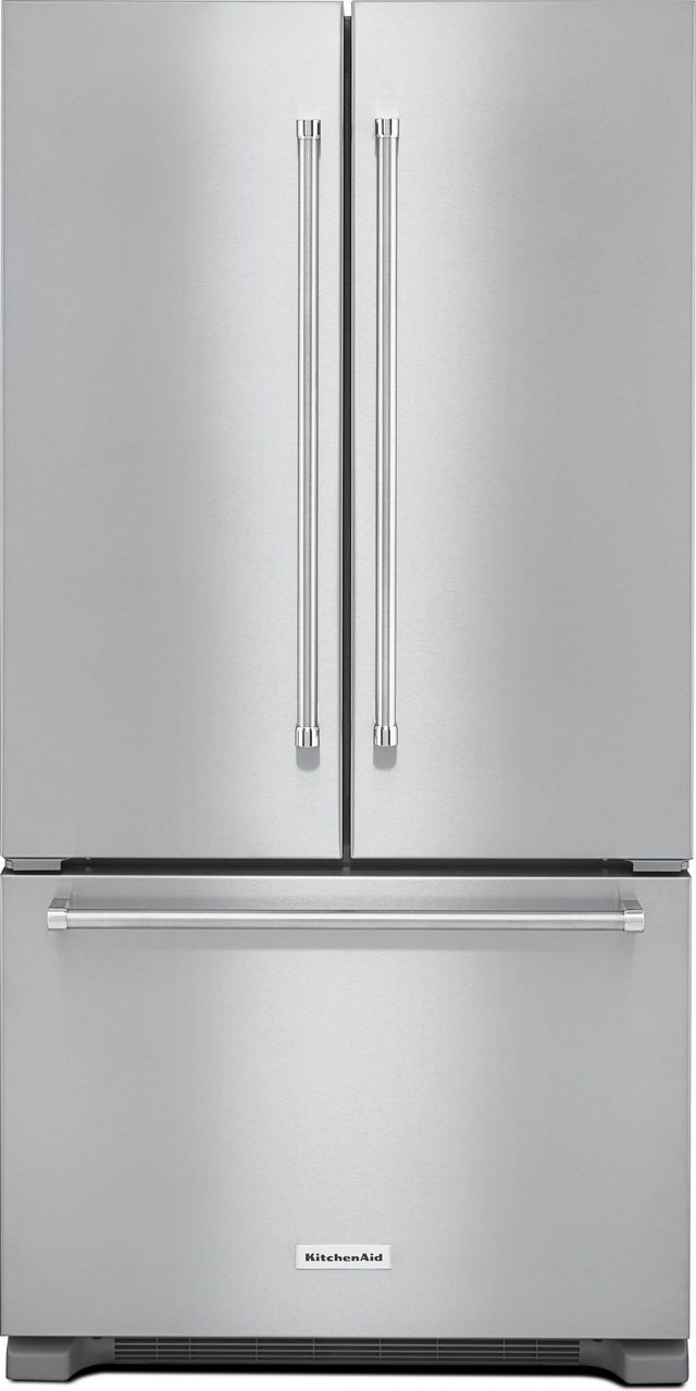 Kitchenaid 174 22 0 Cu Ft Counter Depth French Door