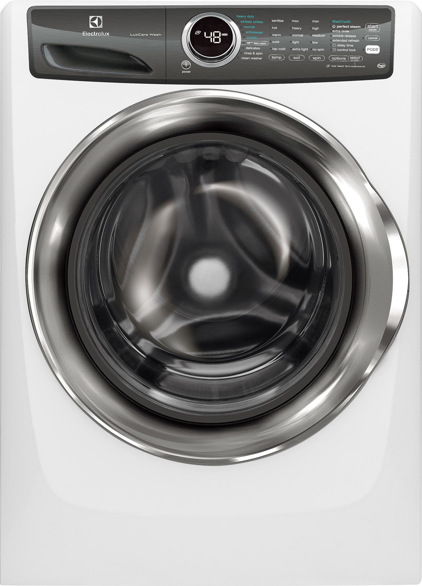 Electrolux Front Load Washer Island White EFLS527UIW EFLS527UIW ...