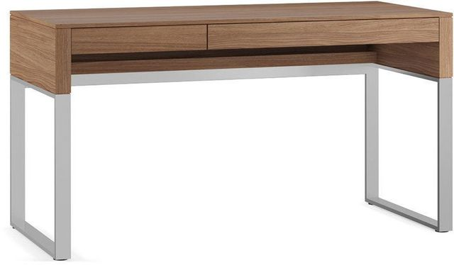 BDI Cascadia® 6201 Desk-Natural Walnut-6201-NATURAL WALNUT ... on Cascadia Outdoor Living Spaces id=90065
