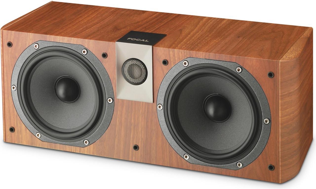 Focal® Walnut 2-Way Center Channel Speaker-CHORUS CC 700-WN