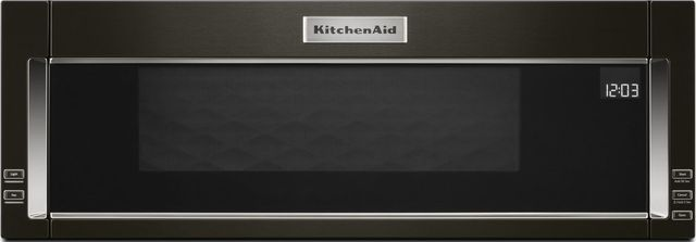 Kitchenaid 174 1 1 Cu Ft Black Stainless Steel With