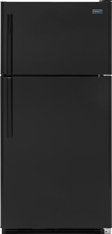 Crosley 174 20 8 Cu Ft Black Top Freezer Refrigerator