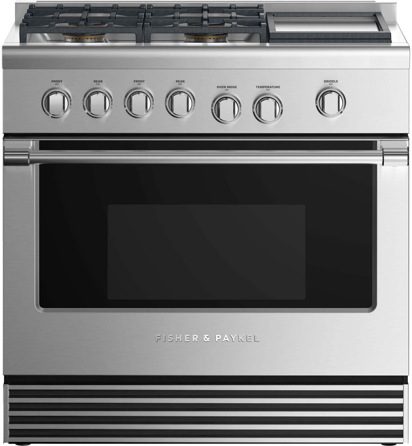 Fisher Paykel 35 88 Pro Style Duel Fuel Range Stainless Steel Rdv2 364gdl