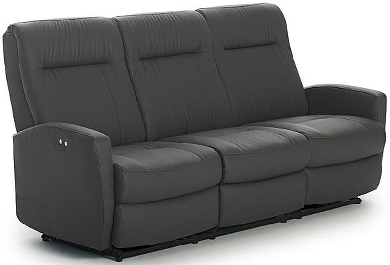 Best Home Furnishings® Costilla Leather Power Space Saver® Sofa-S230CP4