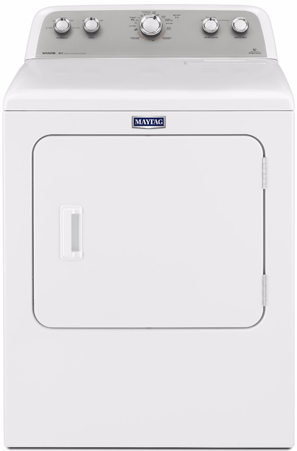 Maytag 174 7 0 Cu Ft White Front Load Electric Dryer