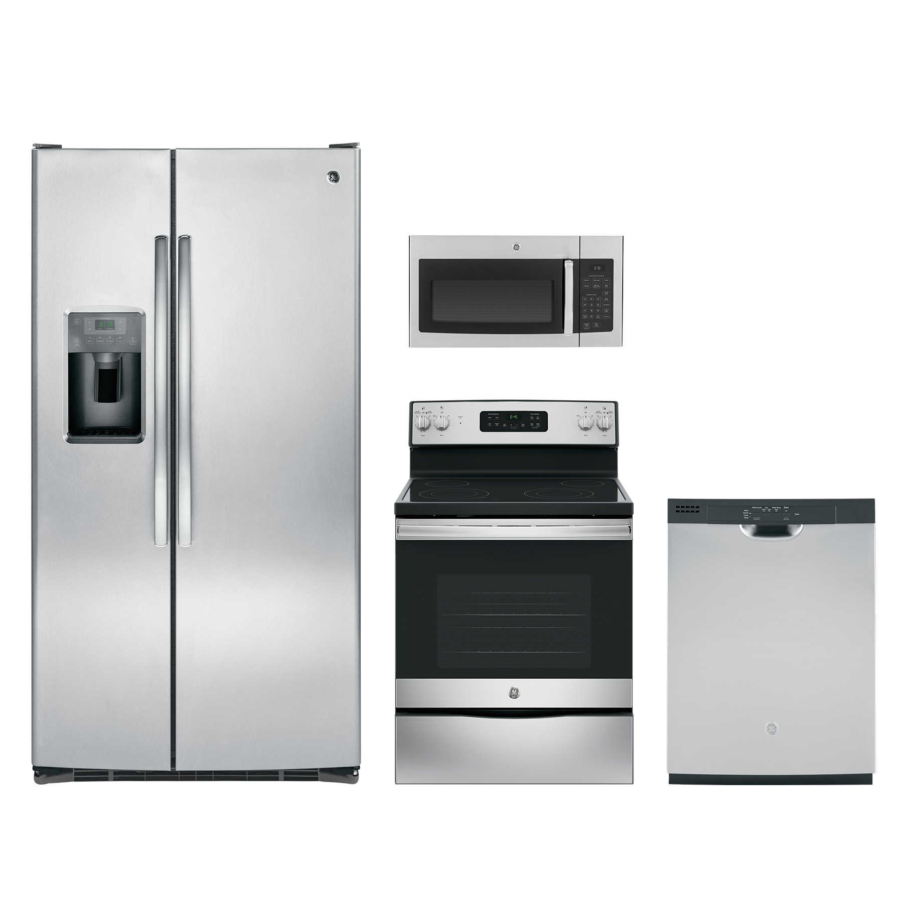 Reviews For GE® 4 Piece Kitchen Package-Stainless Steel
