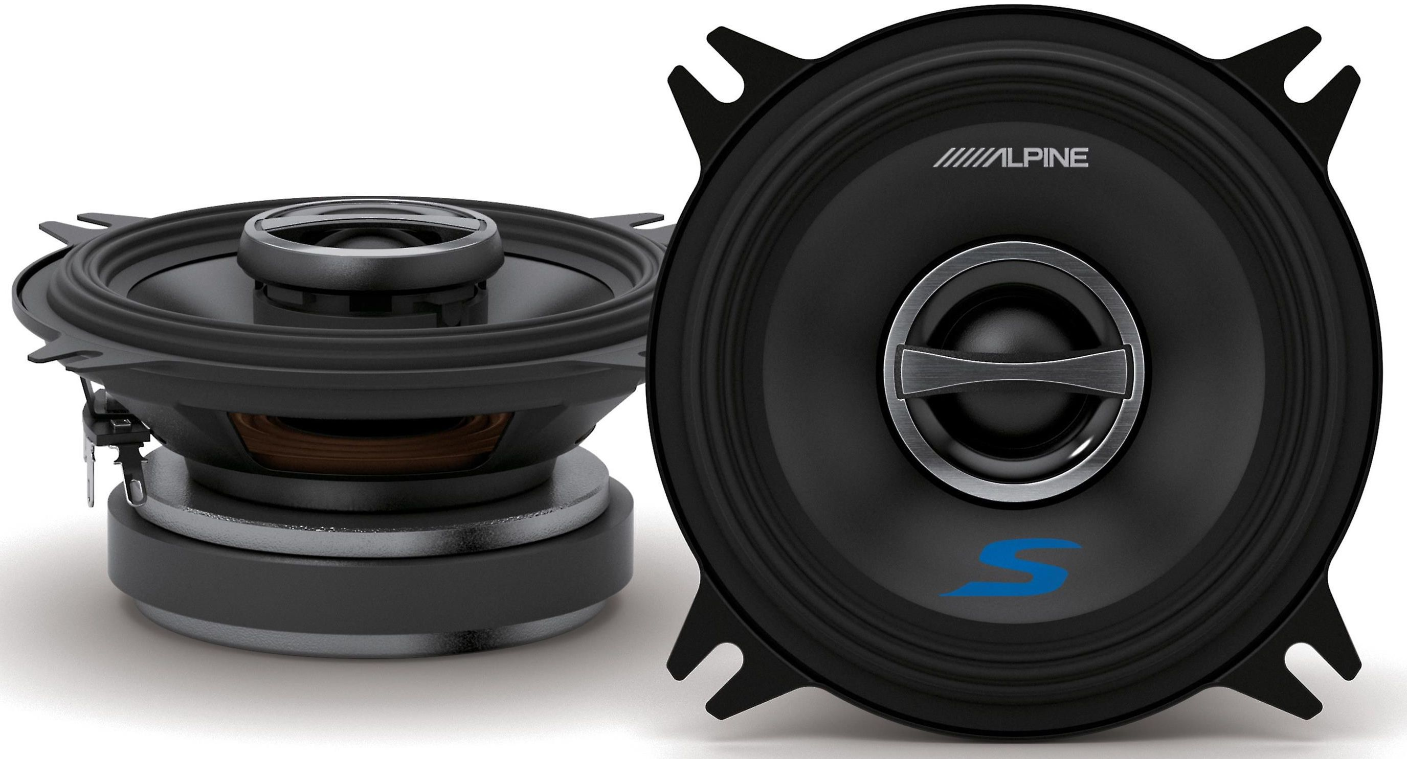 Car Speakers Subs Residential Commercial Automotive Speaker Installation Alpine 4 Coaxial 2 Way