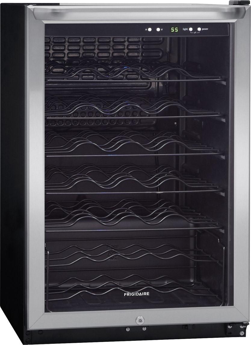 Frigidaire 22 Wine Cooler Stainless Steel Ffwc4222qs Hotpoint Stove Wiring Diagram