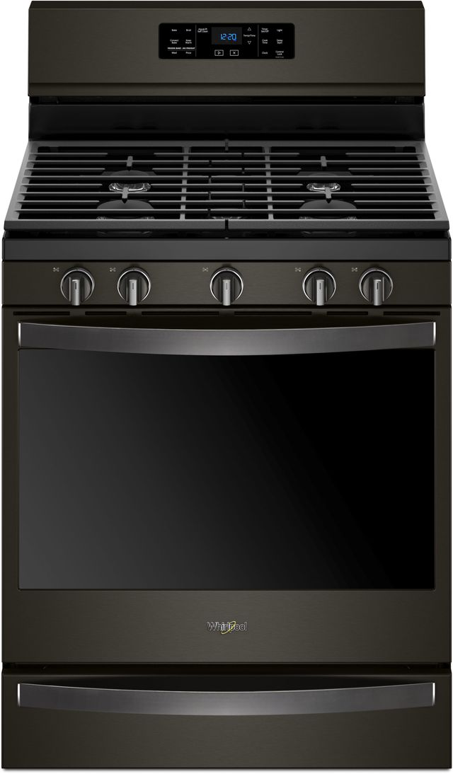 Whirlpool 174 30 Quot Freestanding Gas Range Fingerprint