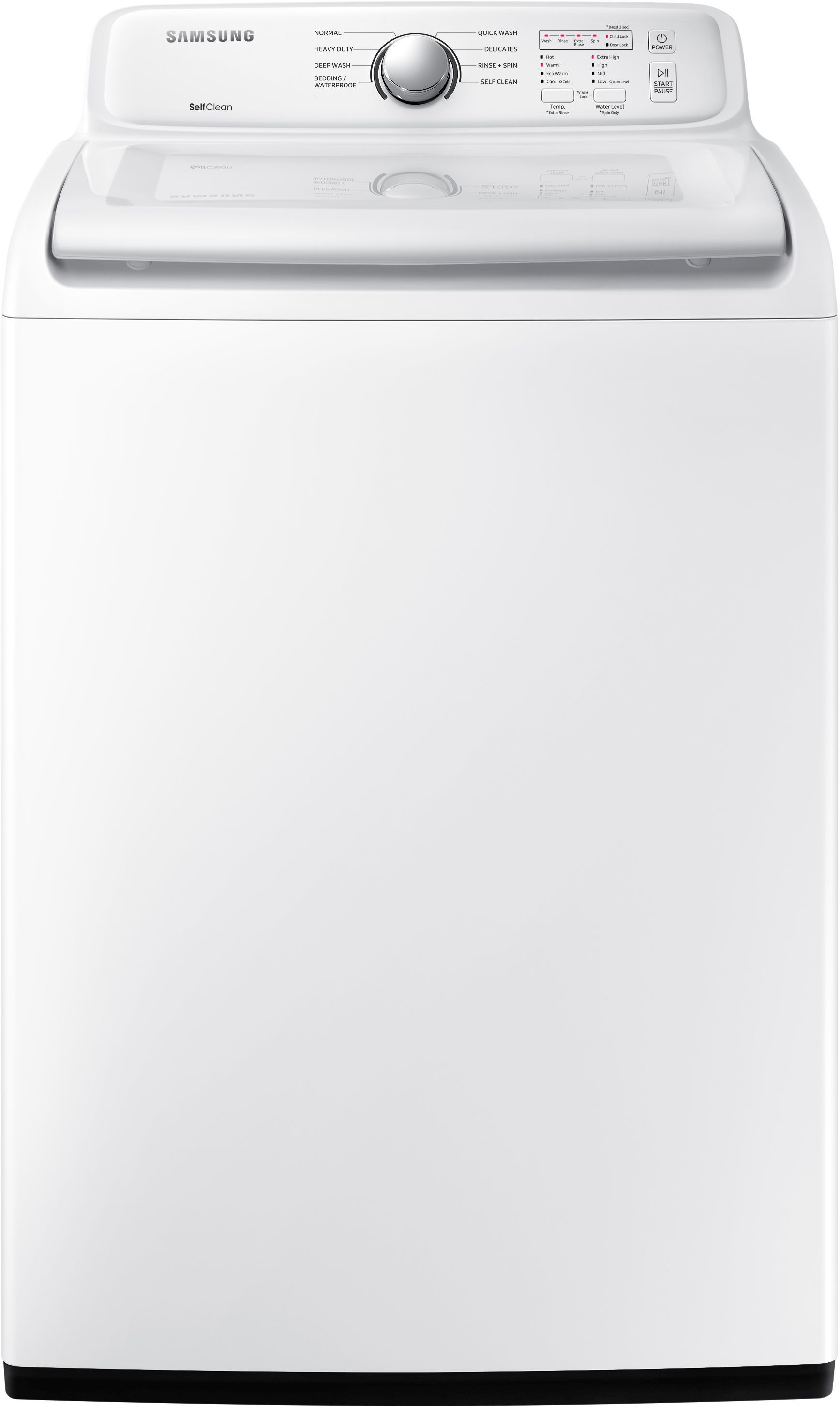 Samsung Top Load Washer White Wa45n3050aw Spencer S Tv