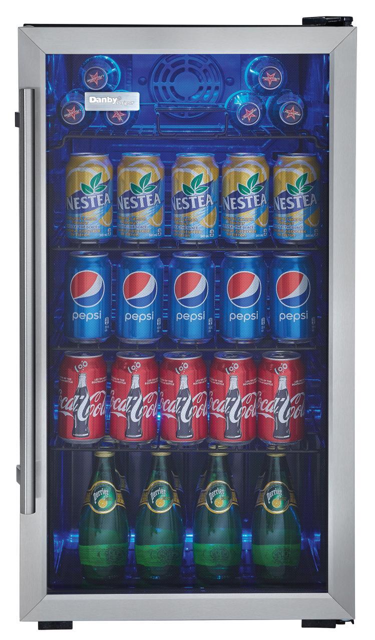 Genial Danby® Designer 3.3 Cu. Ft. Beverage Center Black With Stainless  Steel DBC93BLSDD