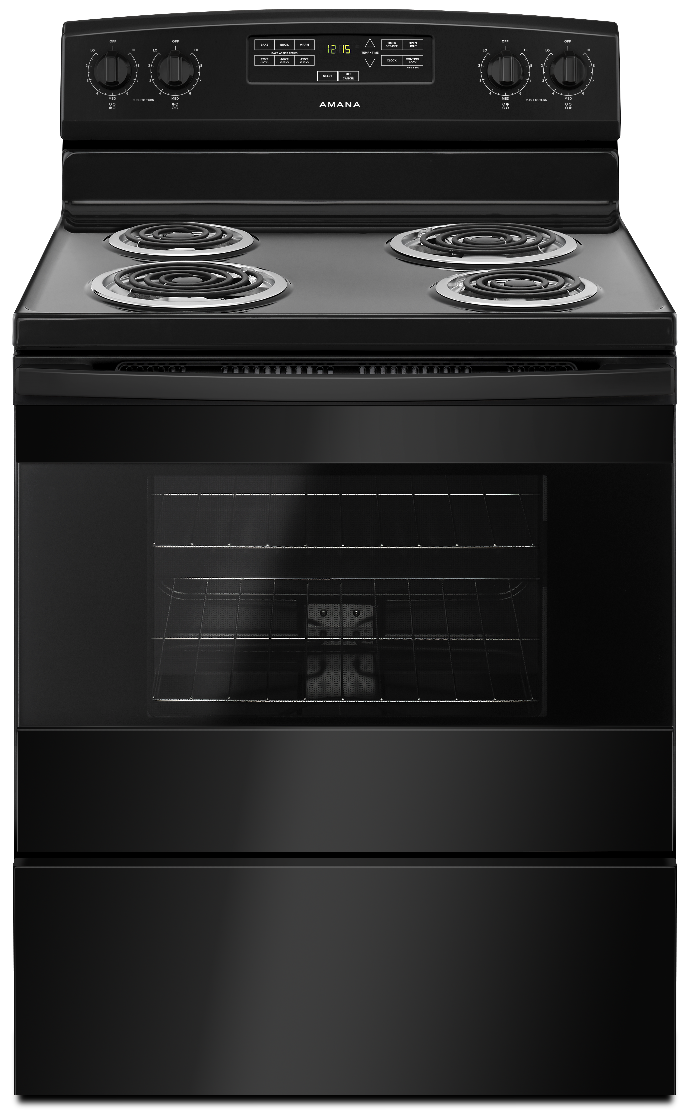 Free Standing Electric Range for Kitchen Gas Top View Png  181obs