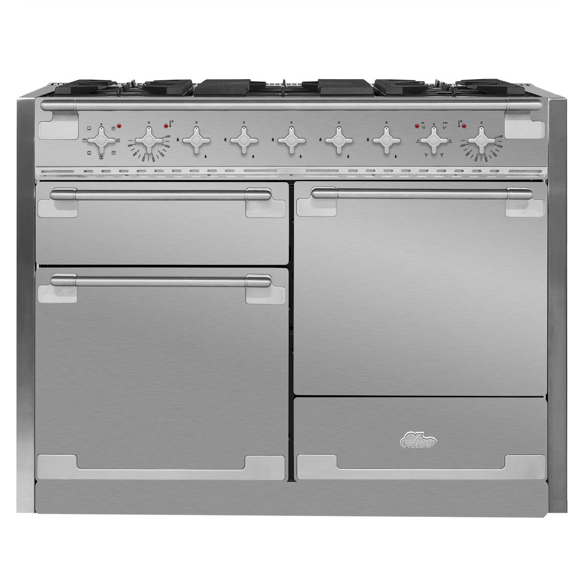 Aga Elise 48 Dual Fuel Range Stainless Steel Ael48df Ss