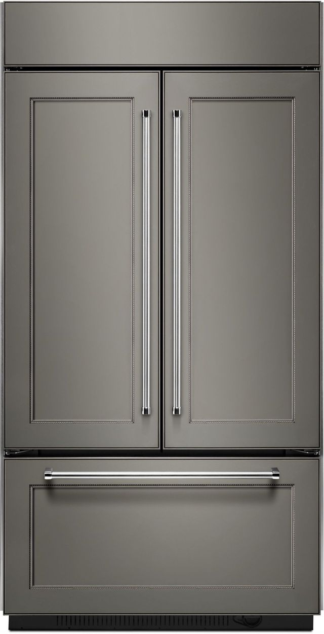 Kitchenaid 174 24 17 Cu Ft Panel Ready Built In French Door