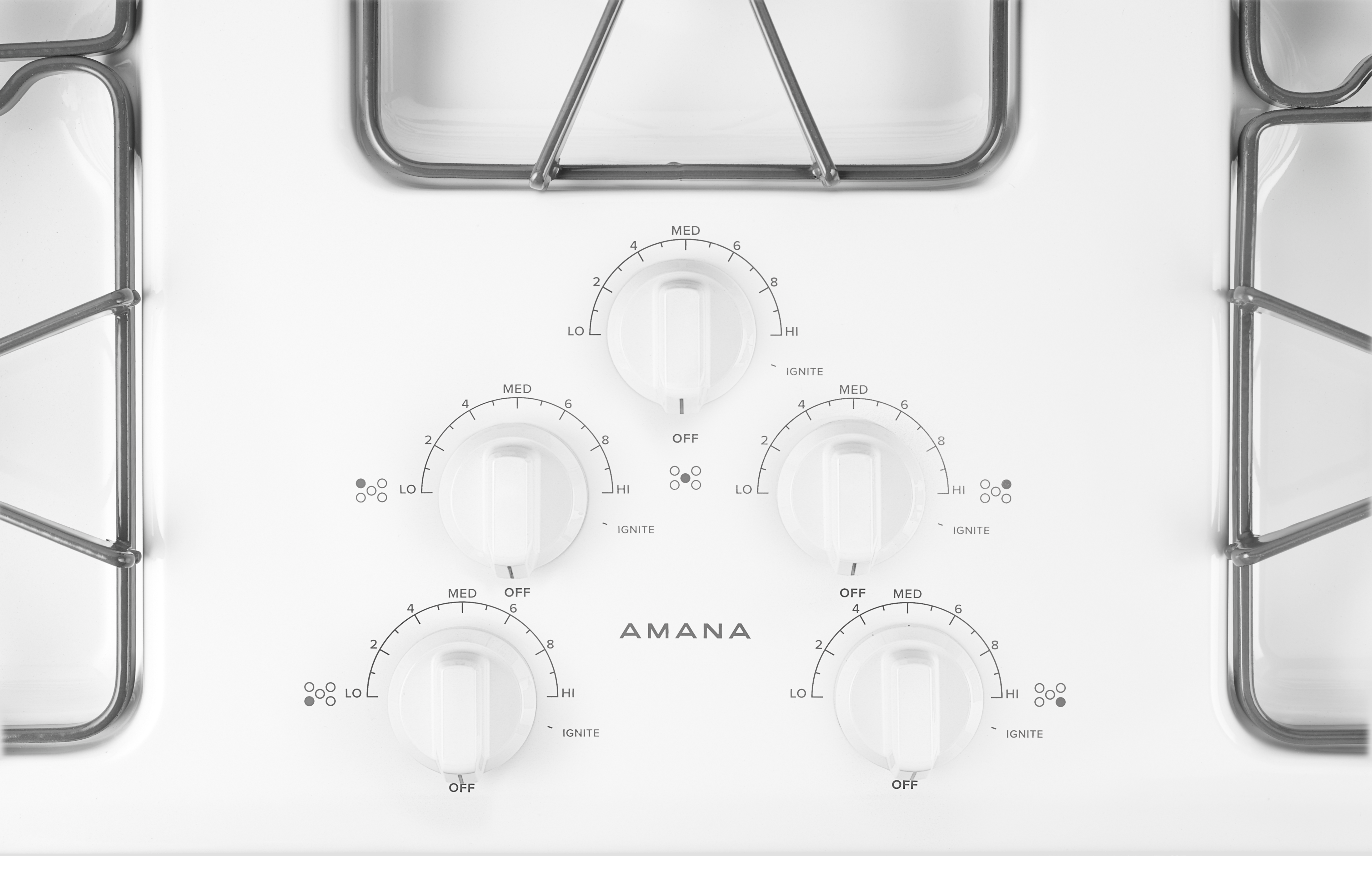 Amana 36 Gas Cooktop Agc6356kf Appliances Monroeville Pa 15146 Stove Wiring Diagram