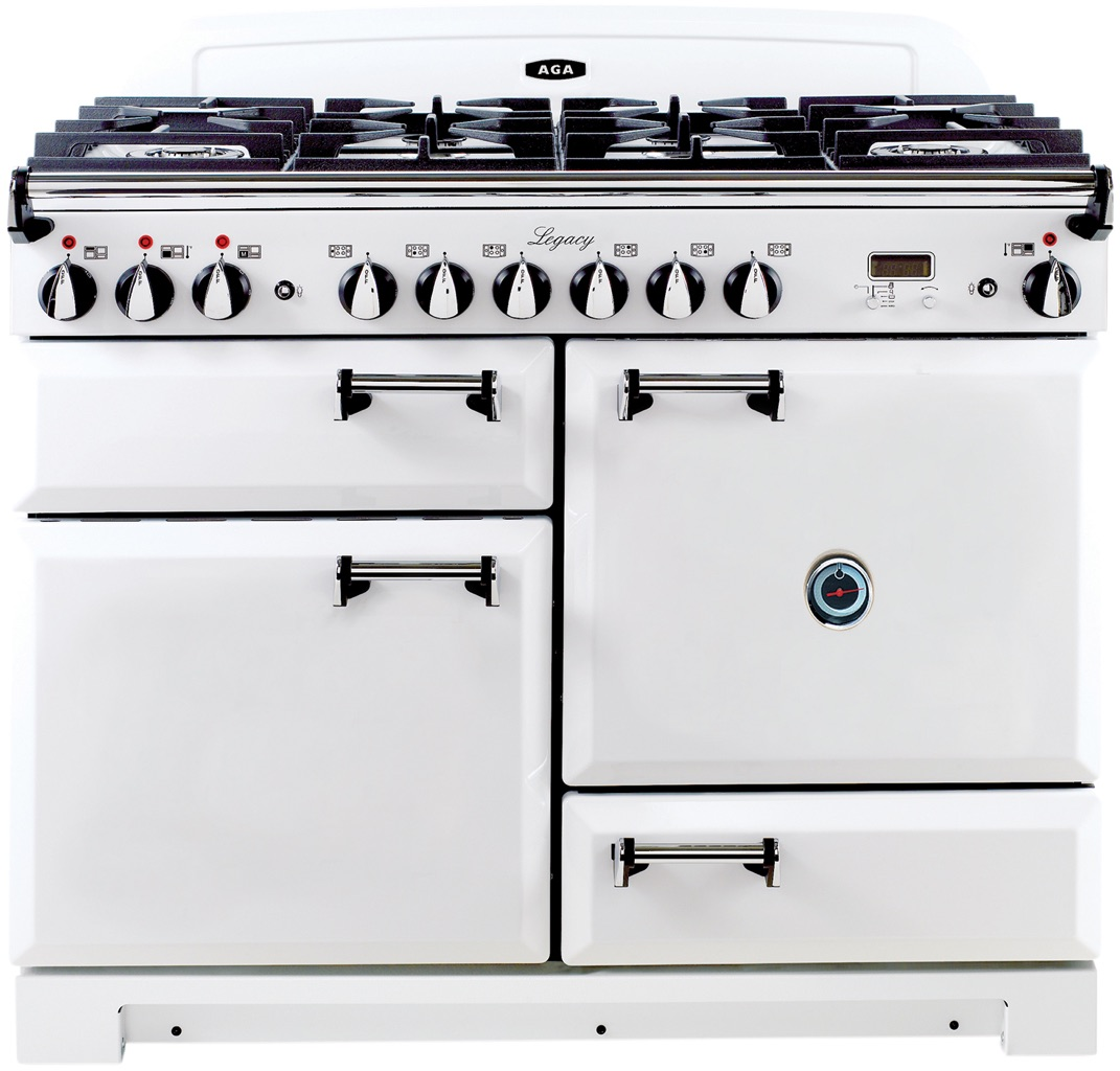 aga legacy 44 freestanding dual fuel range vintage white alebs 44 rh donsappliances com 36 Inch Electric Range Electrolux 36 Dual Fuel Range