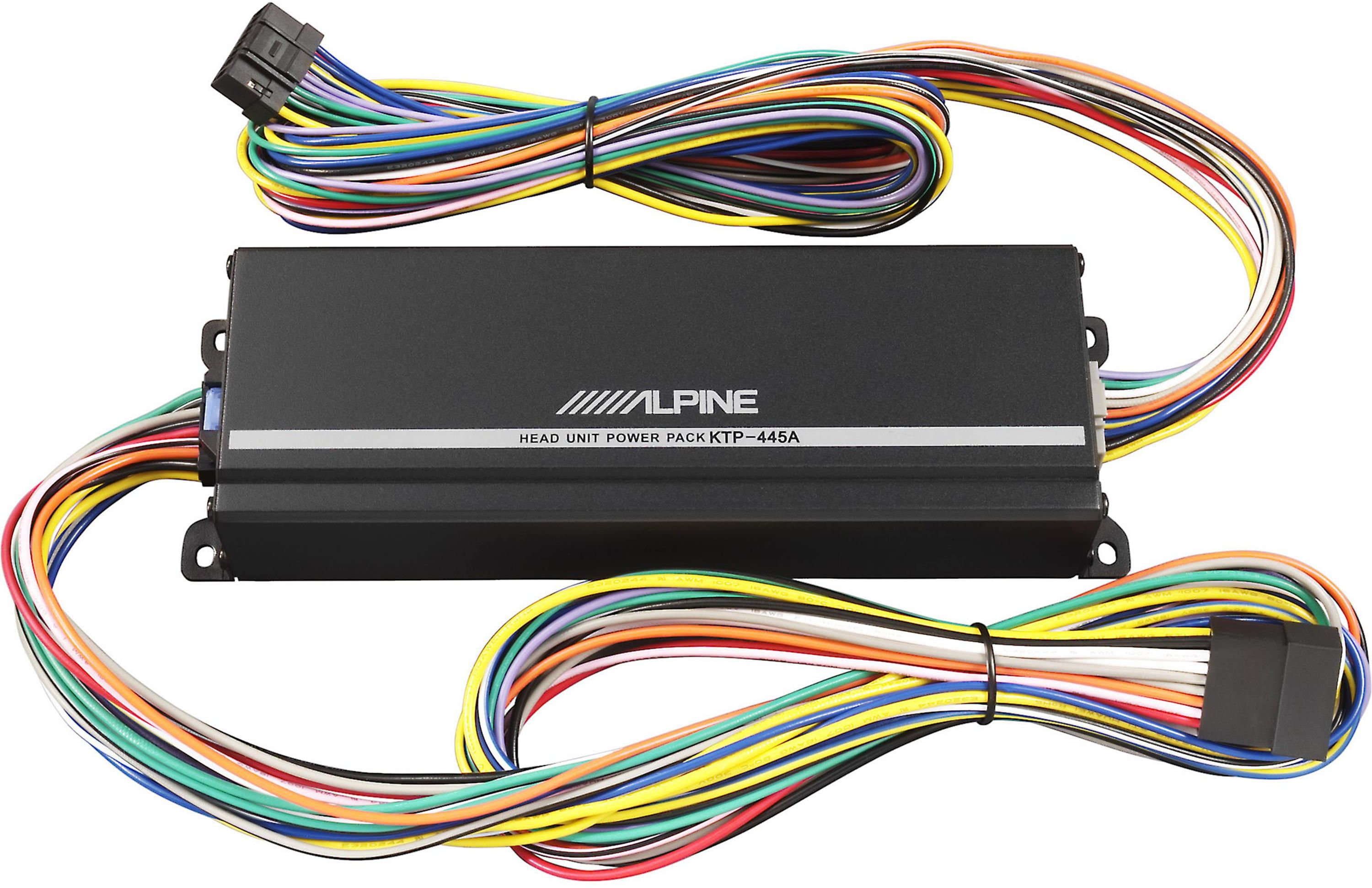 Alpine Power Pack Wiring Electrical Diagram Ktp 445u Amplifier 445a Rh Goodvibesav Com Head Unit