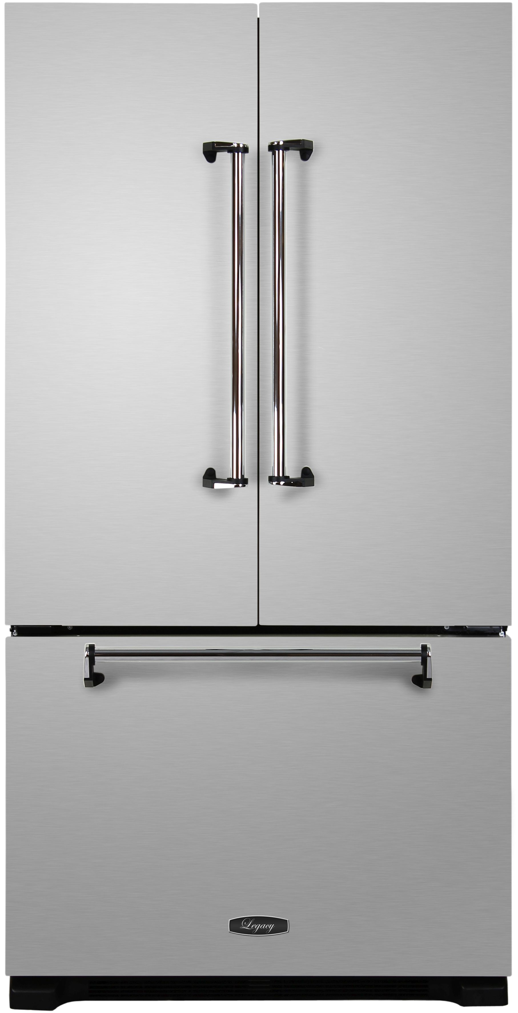 Superbe Ft. French Door Refrigerator Stainless Steel AMLFDR23  ...