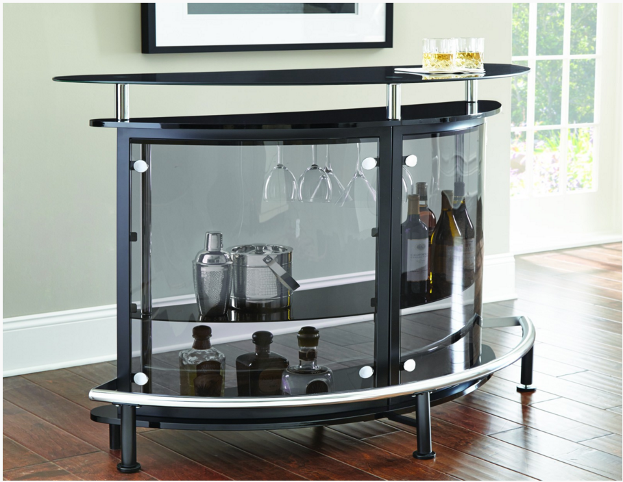 Astounding Steve Silver Co Ariana Bar Table Server Black Ar500Sb Forskolin Free Trial Chair Design Images Forskolin Free Trialorg